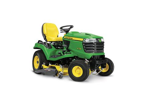 2018 John Deere X734 Signature Series Lawn Tractor in Sparks, Nevada