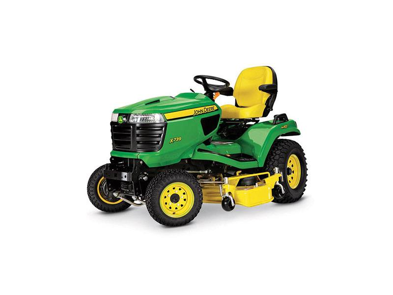 Lawn Mower Tractor >> 2018 John Deere X739 Signature Series Lawn Tractor In Sparks Nevada