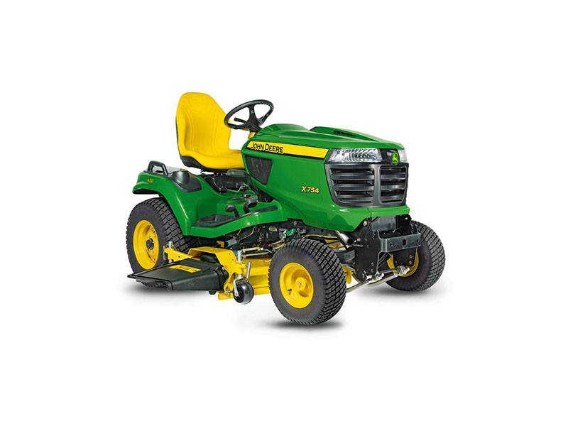2018 John Deere X754 Signature Series Lawn Tractor in Sparks, Nevada