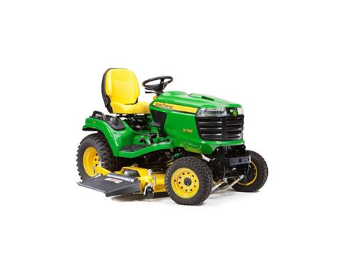 2018 John Deere X758 Signature Series Lawn Tractor in Sparks, Nevada
