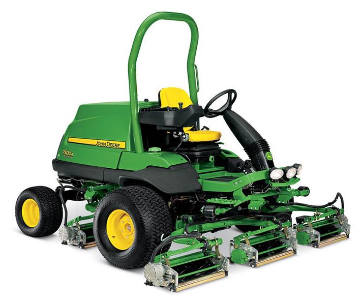 New 2019 John Deere 7500a E Cut Hybrid Fairway Mower Lawn