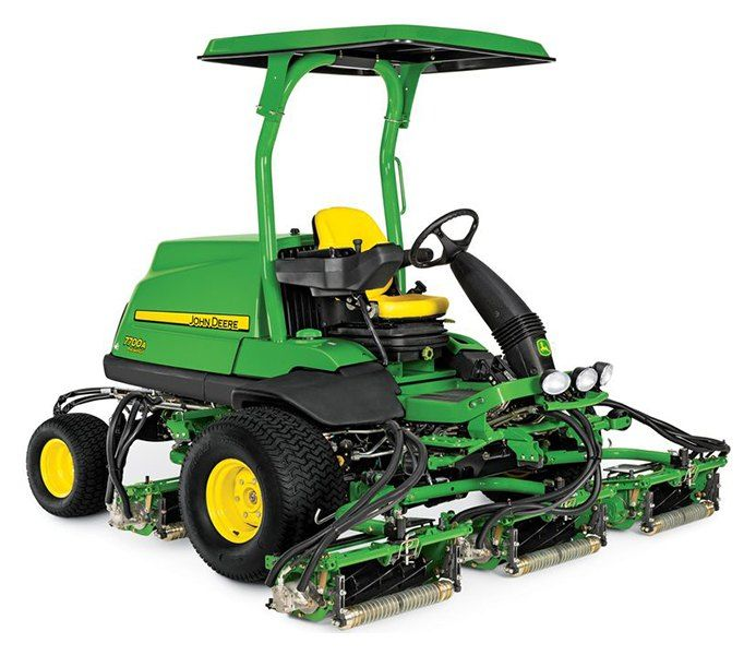 2019 John Deere 7700A Precision Cut Fairway Mower in Terre Haute, Indiana