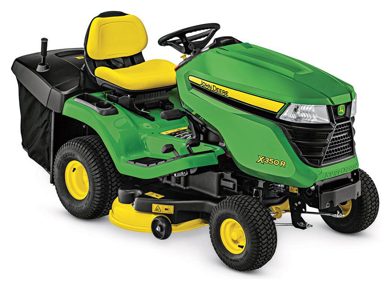 2019 John Deere X350R Tractor with 42 in. Rear-Discharge Deck in Terre Haute, Indiana