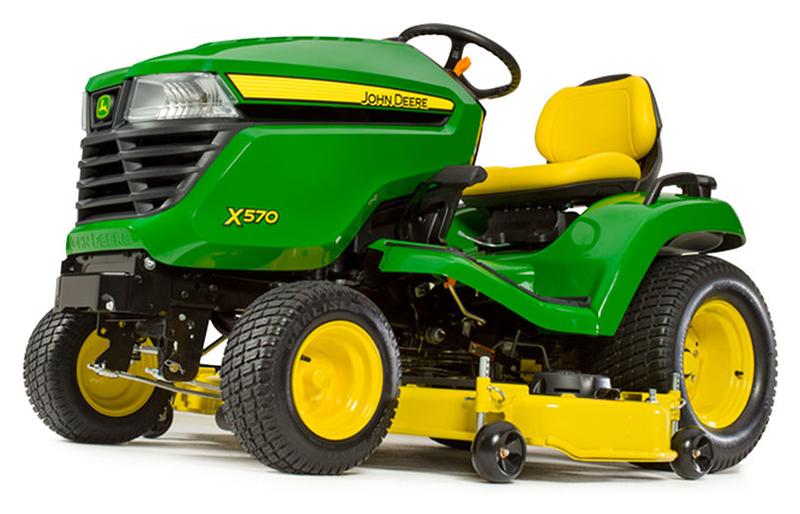New 2019 John Deere X570 54 In 24 Hp Lawn Mowers Riding