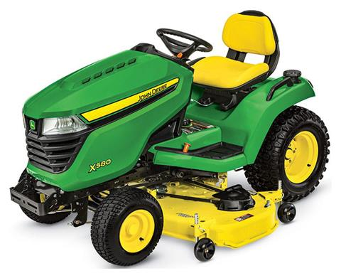 2019 John Deere X580 Lawn Tractor with 54 in. Deck in Sparks, Nevada