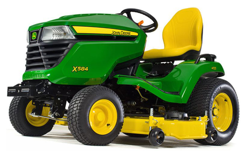 2019 John Deere X584 Lawn Tractor with 48 in. Deck in Sparks, Nevada