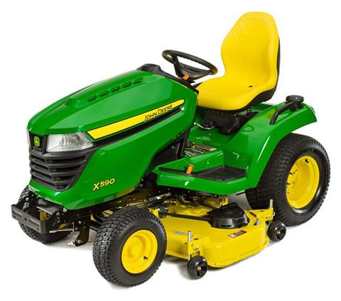 2019 John Deere X590 Lawn Tractor with 48 in. Deck in Sparks, Nevada
