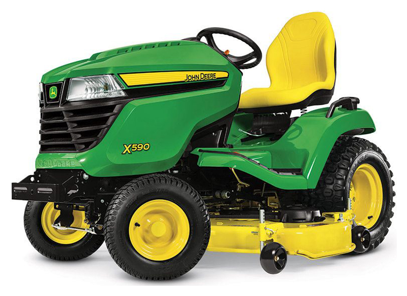 2019 John Deere X590 Lawn Tractor with 54 in. Deck in Sparks, Nevada