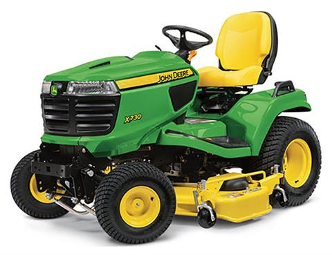 2019 John Deere X730 Signature Series Lawn Tractor in Sparks, Nevada