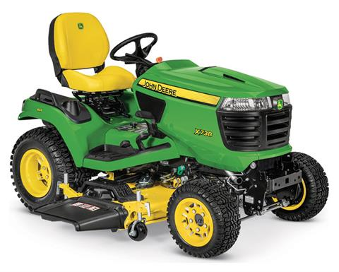 2019 John Deere X738 Signature Series Lawn Tractor in Sparks, Nevada