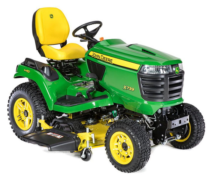 2019 John Deere X739 Signature Series Lawn Tractor in Sparks, Nevada