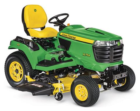 2019 John Deere X754 Signature Series Lawn Tractor in Sparks, Nevada