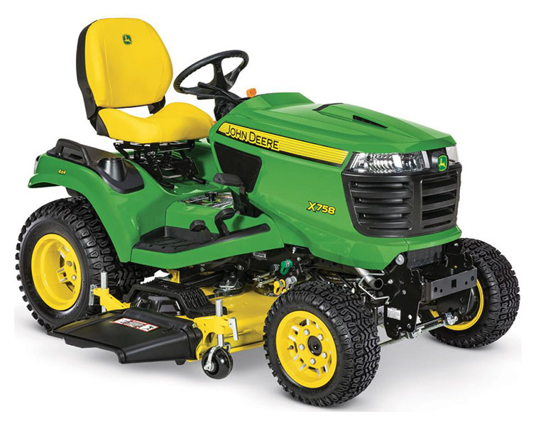 2019 John Deere X758 Signature Series Lawn Tractor in Sparks, Nevada