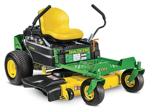 2019 John Deere Z335E Residential ZTrak Mower with 42 in. Deck in Terre Haute, Indiana