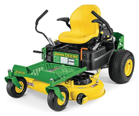 2019 John Deere Z345M Residential ZTrak Mower with 42 in. Deck in Terre Haute, Indiana