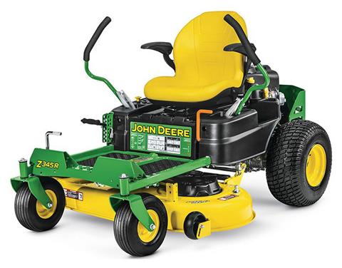 2019 John Deere Z345R Residential ZTrak Mower with 42 in. Deck in Terre Haute, Indiana