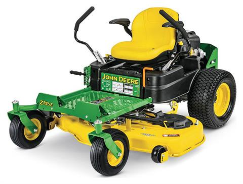 2019 John Deere Z355E Residential ZTrak Mower with 48 in. Deck in Terre Haute, Indiana