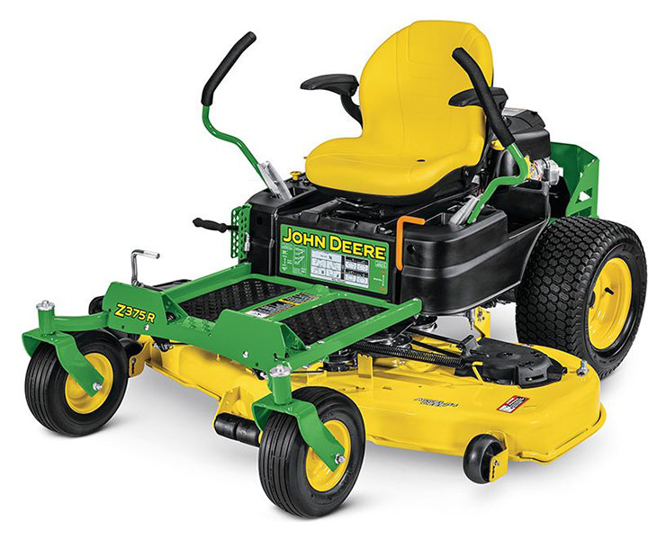 2019 John Deere Z375R Residential ZTrak Mower with 54 in. Deck in Terre Haute, Indiana