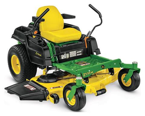 2019 John Deere Z535M Residential ZTrak Mower with 54 in. Deck in Terre Haute, Indiana