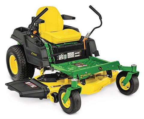 2019 John Deere Z540M Residential ZTrak Mower With 48 in. Deck in Terre Haute, Indiana