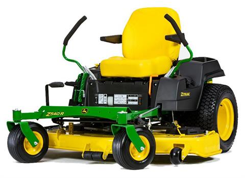 2019 John Deere Z540R Residential ZTrak Mower with 54 in. High Capacity Deck in Terre Haute, Indiana