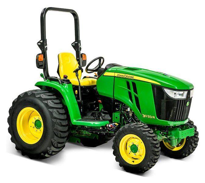 New 2019 John Deere 3033r Tractors In Terre Haute In