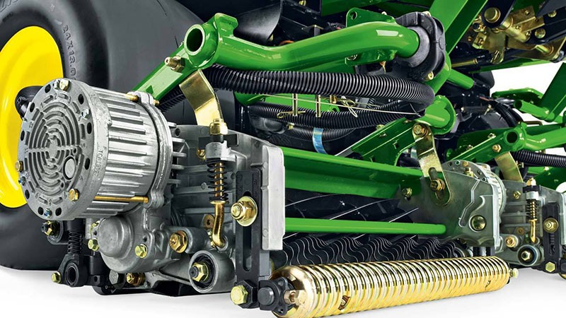 2019 John Deere 6500A E-Cut Hybrid Fairway Mower in Terre Haute, Indiana