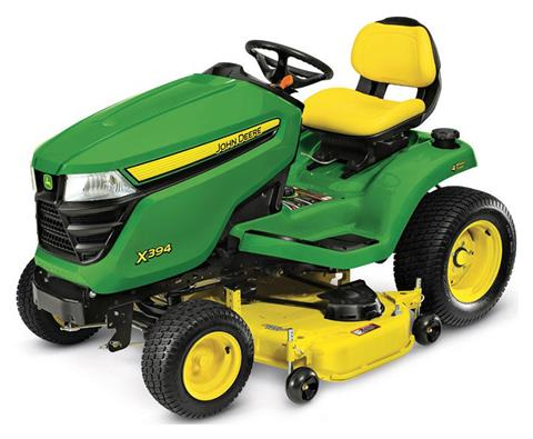 2020 John Deere X394 Select Series 48 in. Deck in Terre Haute, Indiana