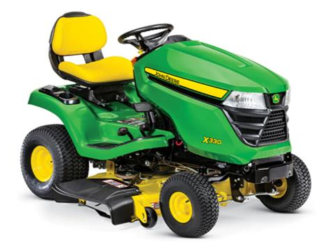 2021 John Deere X330 Select Series 42 in. Deck in Terre Haute, Indiana