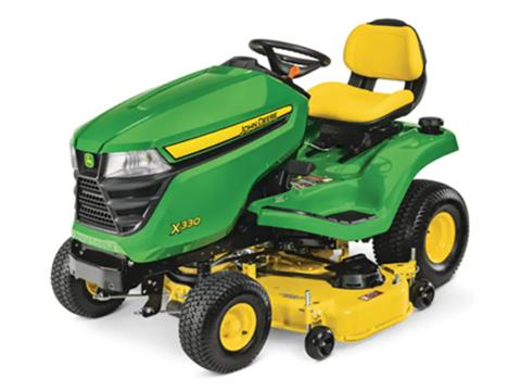 2021 John Deere X330 Select Series 48 in. Deck in Terre Haute, Indiana