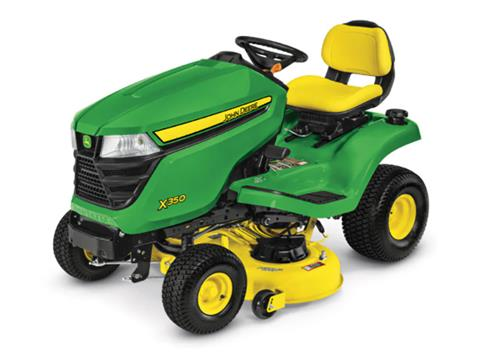 2021 John Deere X350 Select Series 42 in. Deck in Terre Haute, Indiana