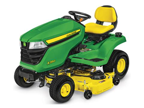 2021 John Deere X350 Select Series 48 in. Deck in Terre Haute, Indiana