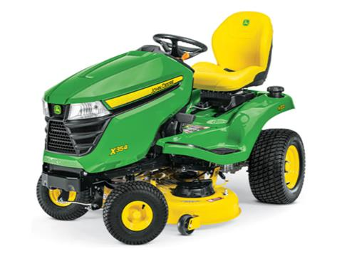2021 John Deere X354 Select Series 42 in. Deck in Terre Haute, Indiana