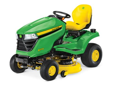 2021 John Deere X370 Select Series 42 in. Deck in Terre Haute, Indiana