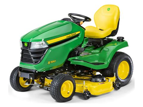 2021 John Deere X380 Select Series 48 in. Deck in Terre Haute, Indiana