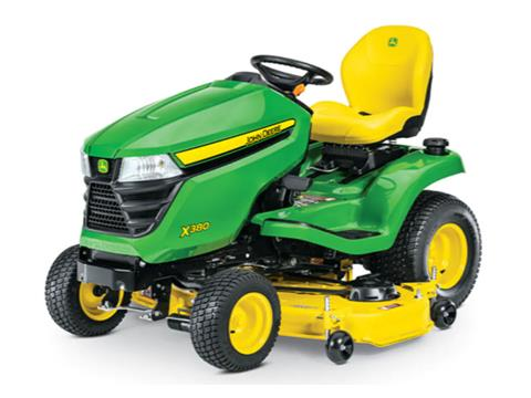 2021 John Deere X380 Select Series 54 in. Deck in Terre Haute, Indiana