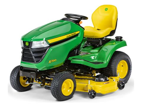 2021 John Deere X390 Select Series 48 in. Deck in Terre Haute, Indiana
