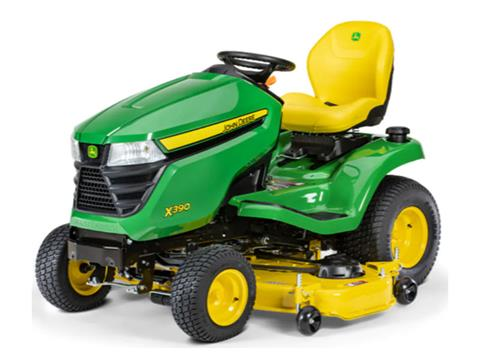 2021 John Deere X390 Select Series 54 in. Deck in Terre Haute, Indiana