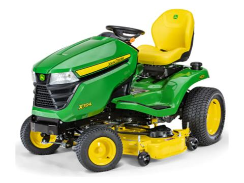 2021 John Deere X394 Select Series 48 in. Deck in Terre Haute, Indiana