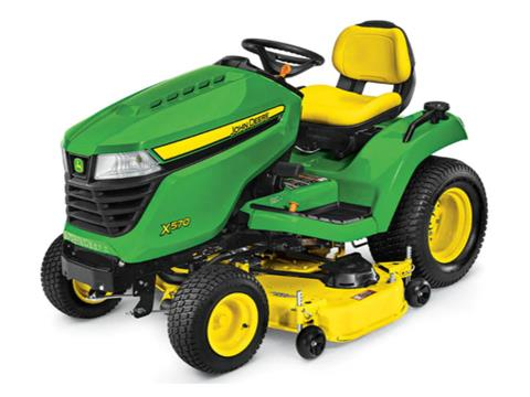 2021 John Deere X570 Select Series 48 in. Deck in Terre Haute, Indiana