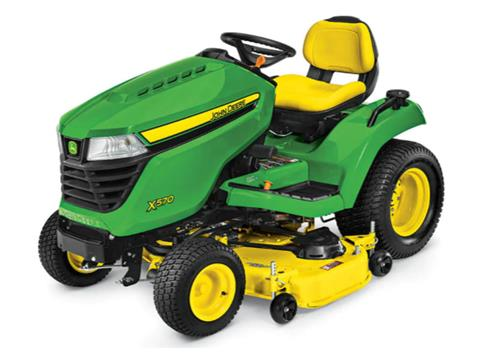 2021 John Deere X570 Select Series 54 in. Deck in Terre Haute, Indiana