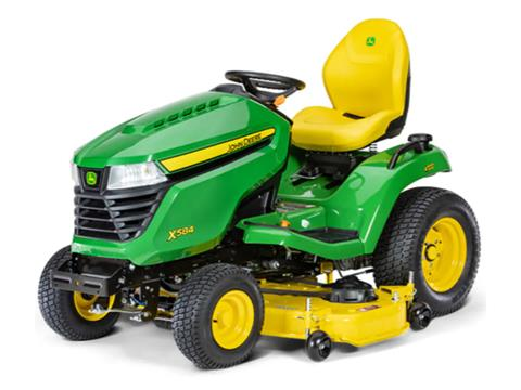 2021 John Deere X584 Select Series 48 in. Deck in Terre Haute, Indiana