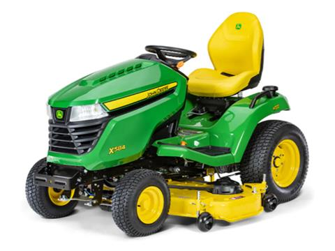 2021 John Deere X584 Select Series 54 in. Deck in Terre Haute, Indiana