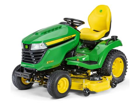 2021 John Deere X590 Select Series 54 in. Deck in Terre Haute, Indiana