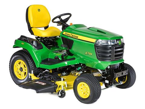 2021 John Deere X734 Select Series 48 in. Deck in Terre Haute, Indiana