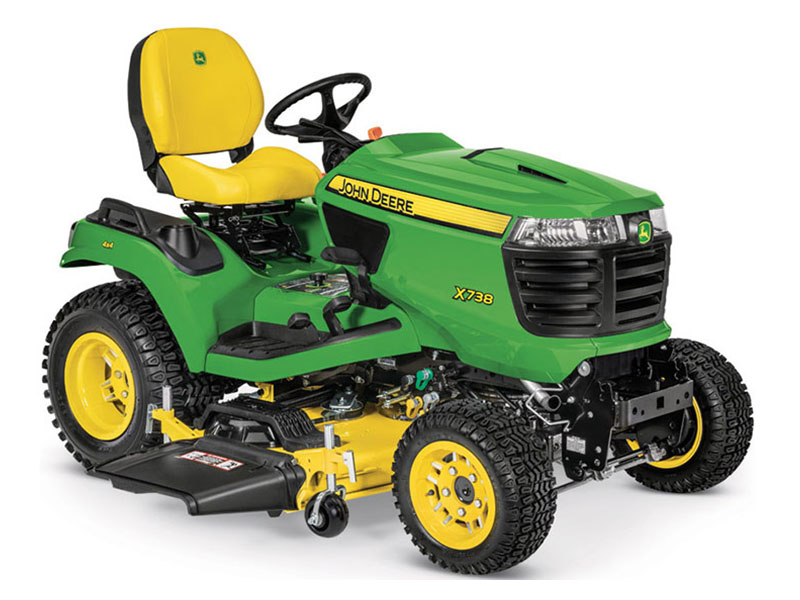 2021 John Deere X738 Select Series 60 in. Deck in Terre Haute, Indiana