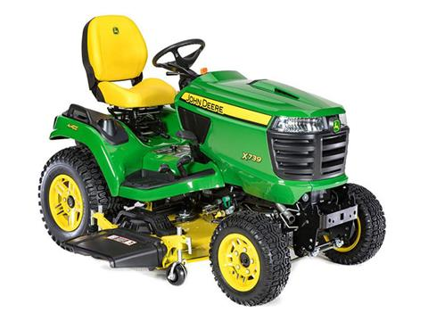 2021 John Deere X739 Select Series 54 in. Deck in Terre Haute, Indiana