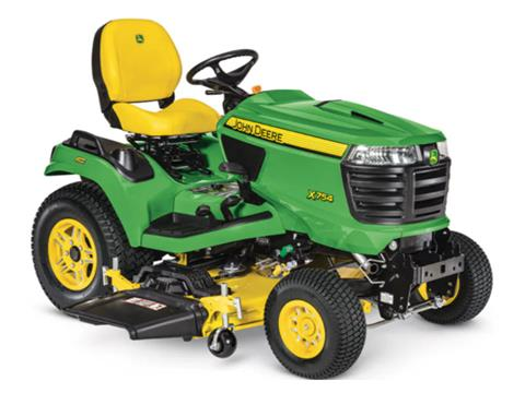 2021 John Deere X754 Select Series 48 in. Deck in Terre Haute, Indiana