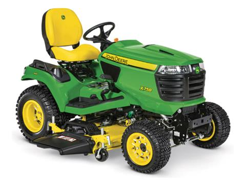 2021 John Deere X758 Select Series 48 in. Deck in Terre Haute, Indiana