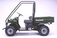 2001 Kawasaki Mule 550 in Amory, Mississippi